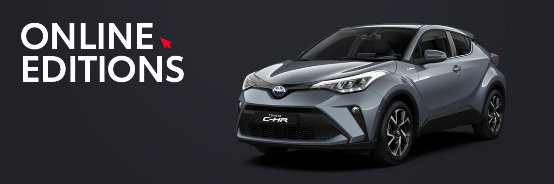 Toyota C-HR Online Editions